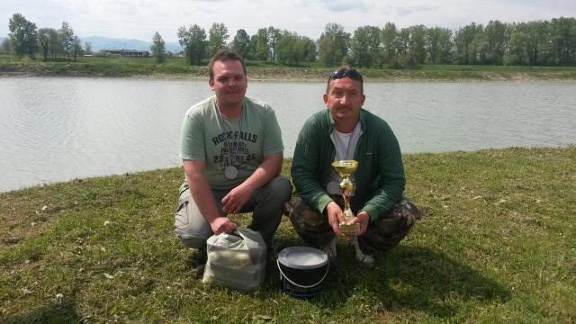 2. mjesto CT Čubi Bubi + nagrada za najveću ribu natjecanja (15,150kg)